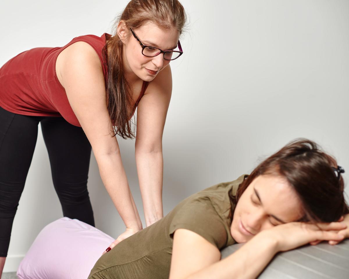 massage prénatal à forest