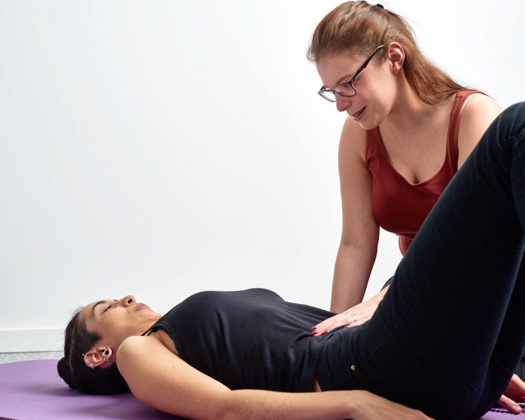 exercice de kinésithérapie postnatale à Bruxelles